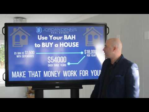 Use your BAH to BUY a HOUSE - Jordan Dennis, Century 21 Blue Marlin