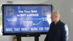 Use your BAH to BUY a HOUSE - Jordan Dennis, Century 21 Blue Marlin