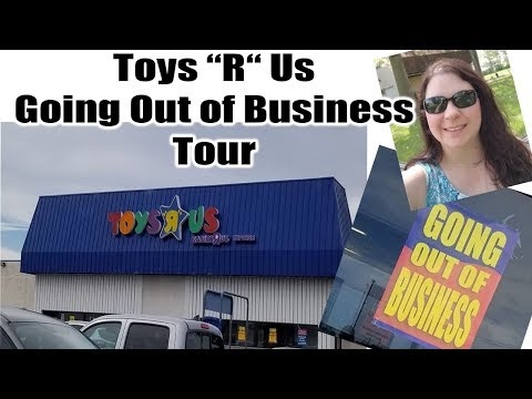 Toys R Us Going Out Of Business Tour Online Reseller Amazon, Ebay, Poshmark