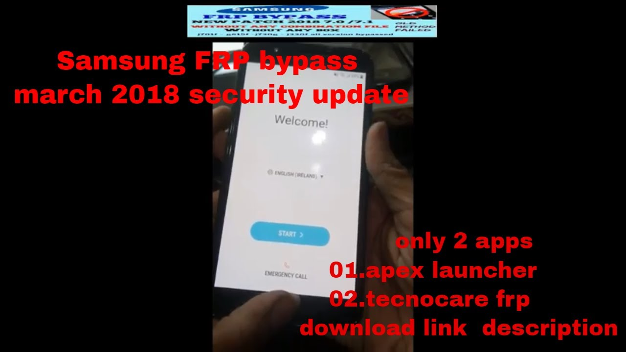 SAMSUNG FRP 2018 PATCH/SAMSUNG U3 SECURITY FRP REMOVE TESTED SOLUTION IN  G610F, J701F BY WAQAR KHAN