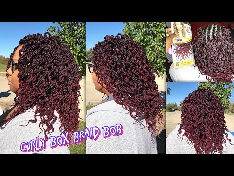 URBAN BEAUTY NATURALL CURLY BOX BRAID 12