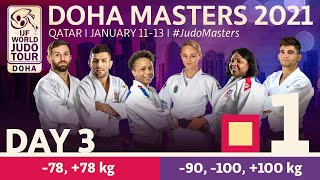 Day 3 - Tatami 1: Doha World Judo Masters 2021