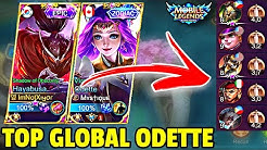 XIYOR HAYABUSA MEETS TOP GLOBAL PRO ODETTE IN MYTHIC RANK! | MOBILE LEGENDS