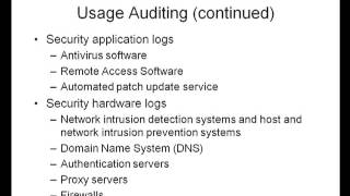 Conducting Security Audits Ch10