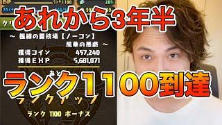 【パズドラ】〜ランク1100とメモリアルガチャと私〜