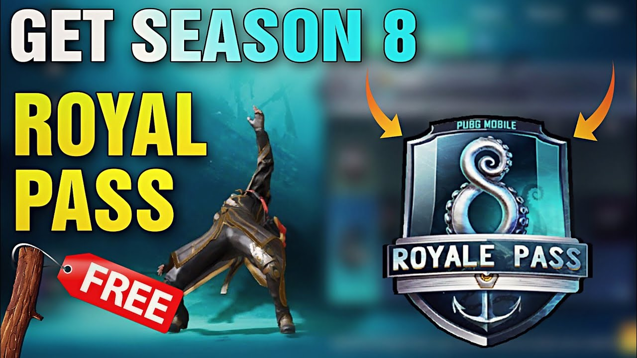 HOW TO BUY SEASON 8 ELITE ROYAL PASS IN PUBG MOBILE ! GET FREE UC CASH