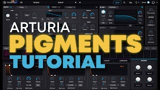 Arturia Pigments wavetable synth tutorial & overview