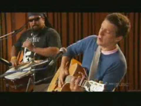 Jason Mraz Im Yours acoustic instudio