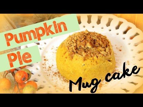 Easy Pumpkin Pie Mug Cake   CHEAP CLEAN EATS