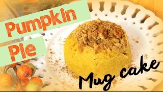 Easy Pumpkin Pie Mug Cake | Cheap Clean Eats