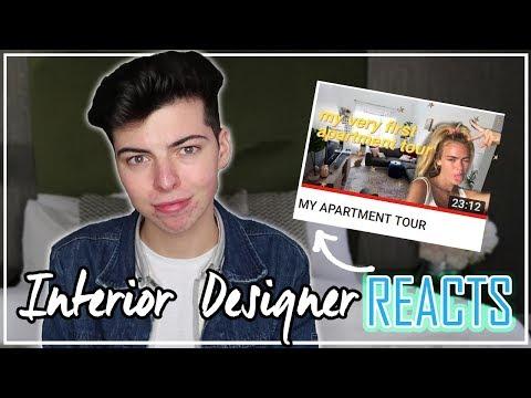 Interior Designer REACTS To YouTuber Summer Mckeen 's Apt Tour!! thumbnail