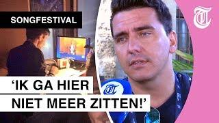 Jan Smit over commentaarhok Songfestival: 'IJspegels hingen aan het plafond'