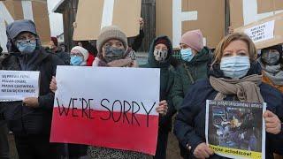 Polen: Demonstration gegen schlechte Behandlung von Migranten