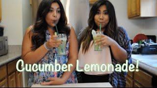 Foodie Friday: Cucumber Lemonade