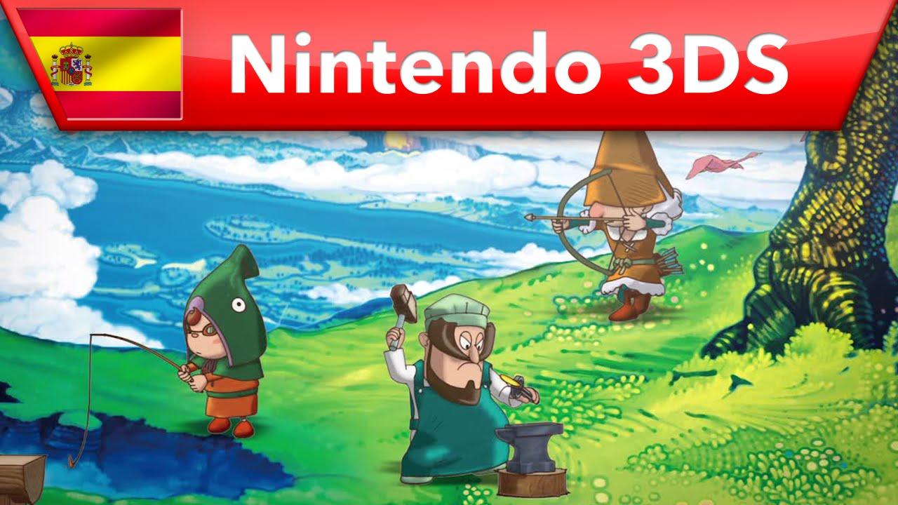 Fantasy Life - Tráiler del juego (Nintendo 3DS)