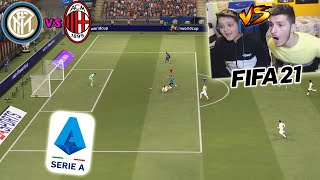 INTER vs MILAN - DERBY PAZZESCO!! - Fifa 21