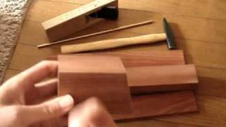 How To Make A Krenov Style Plane Pt. 1/2
