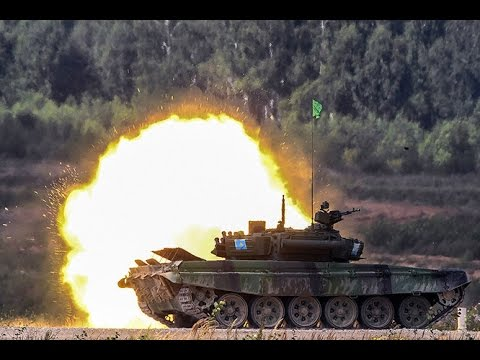 Clash of titans! Best moments of Russia's epic Tank Biathlon 2016 final