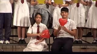 1415  明愛莊月明中學家教晚會 - 合唱團表演