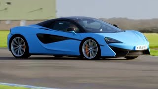 Chris Harris Lap: McLaren 570S Spider | Extra Gear | BBC