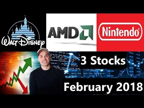 3 Stocks I'm Investing In - February 2018