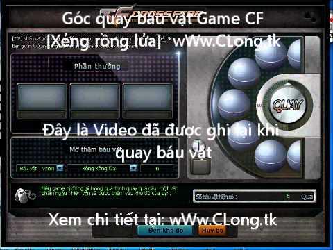 Góc quay Xẻng Rồng Lửa báu vật Game CF-VTC - www.CLong.tk