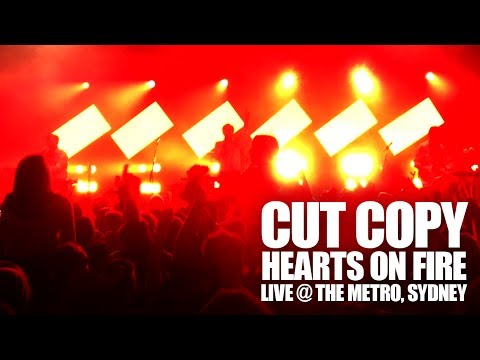 Cut Copy - Hearts On Fire (Live @ The Metro, Sydney - 19th June 2017)
