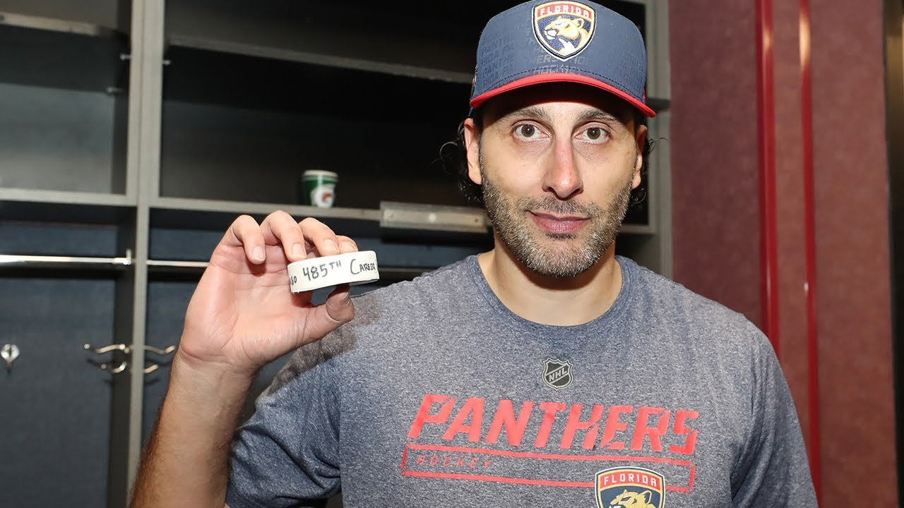 Roberto Luongo Beats Avalanche To Move Into Third Place On Nhl All