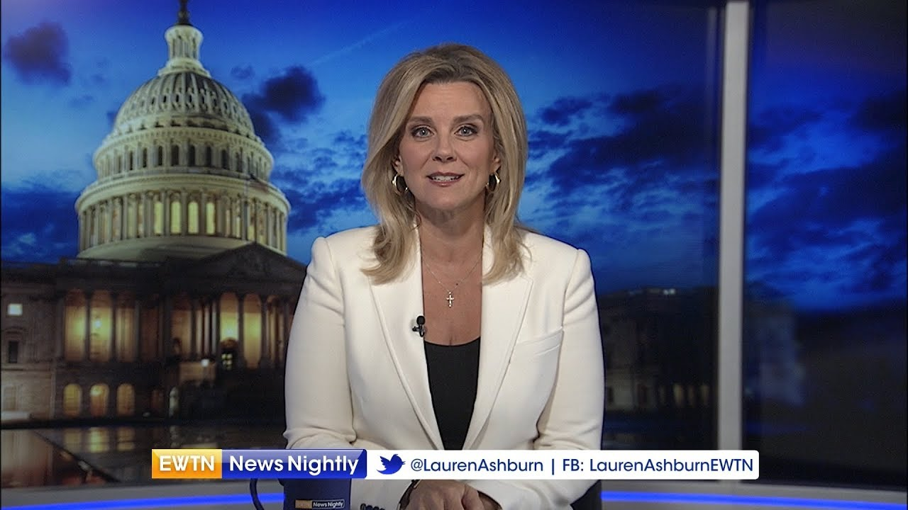 ewtn news nightly - 2018-08-30 full episode with lauren ashburn