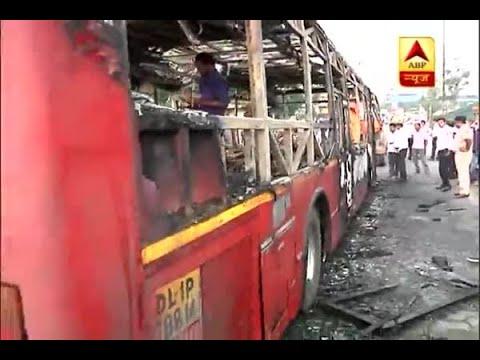 Ram Rahim Rape Case: DTC bus gutted by followers