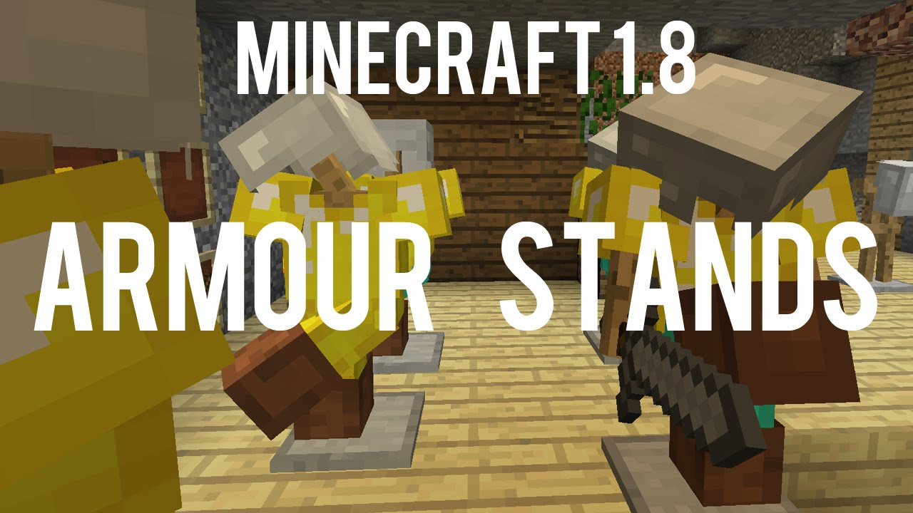 How to make armor stand in minecraft 1.14.2