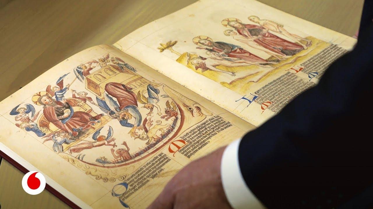 Tecnología espacial para digitalizar la biblioteca del Vaticano