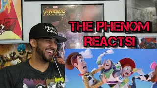 Toy Story 4 | Official Teaser Trailer REACTION!!!!