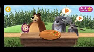 Мультфильм Маша и Медведь готовят ПИЦЦУ МУЛЬТФИЛЬМЫ