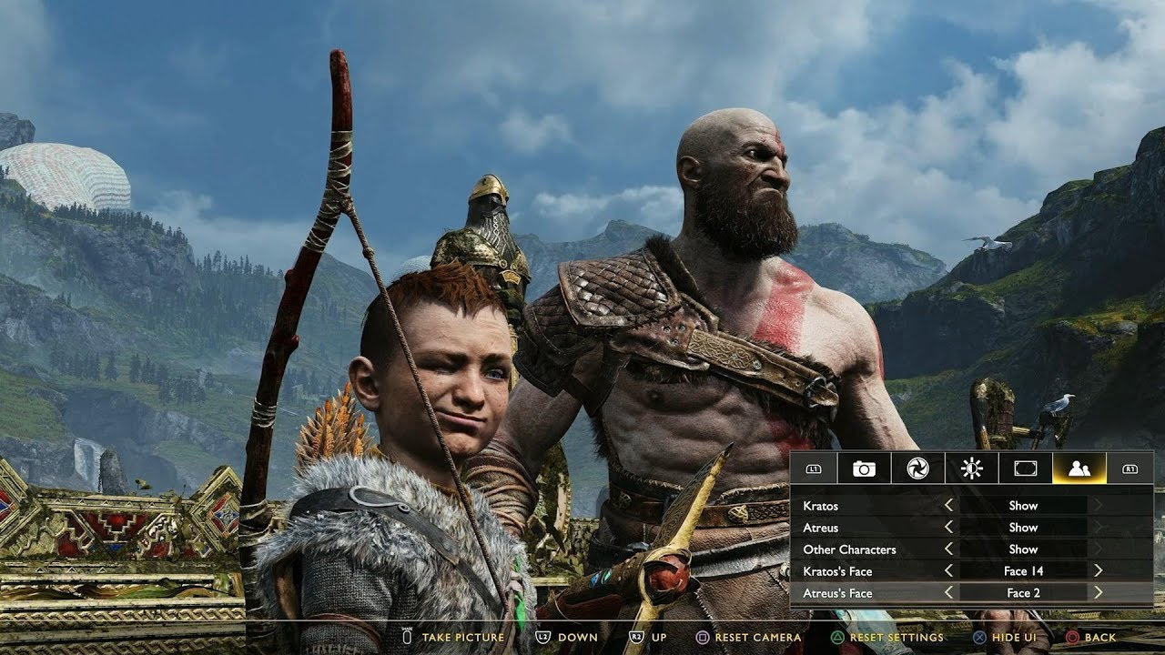 God Of War Photo Mode First Look (PS4) - YouTube