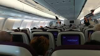 Cosa trovi davanti a te su un volo intercontinentale Air Italy per New York?