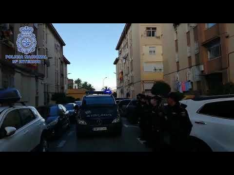 Homenaje a la Policía Nacional en Manzanera