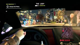 Watch Dogs PC Gameplay: First Person Car Chase
