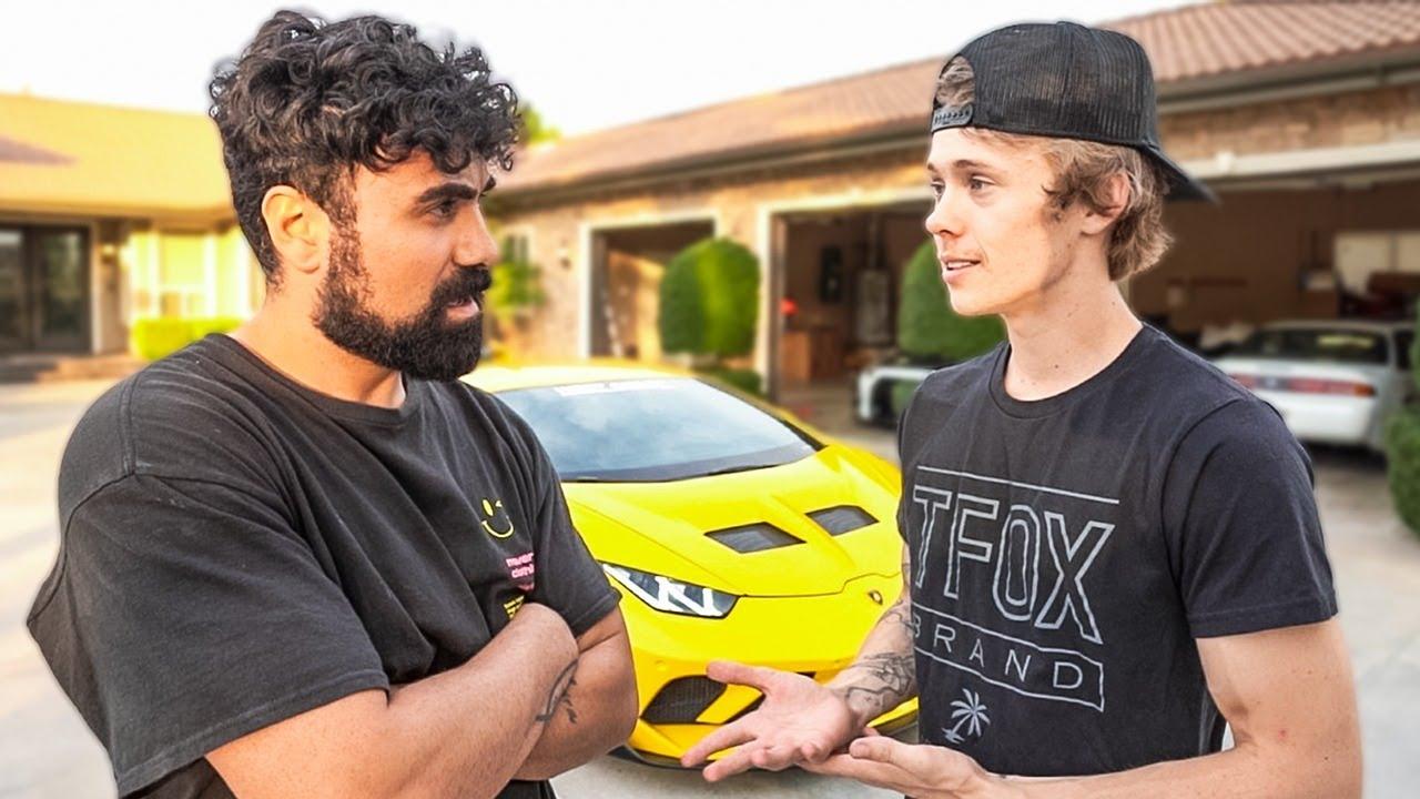 Confronting Tanner Fox for Not Boxing the TikToker…