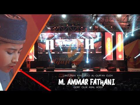 M. AMMAR FATHANI Juara STQ Nasional 2017 | CLOSING PEKAN NGAJI 4