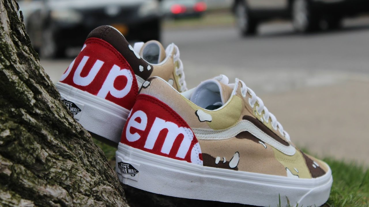 CUSTOM SUPREME VANS Did You WIn The Give Away