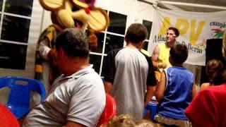Danse du camping moncalm été 2011