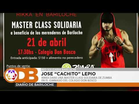 RIKKA DARÁ UNA MASTER CLASS SOLIDARIA DE ZUMBA EN EL GIMNASIO DEL COLEGIO DON BOSCO