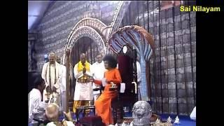 Prasanthi Mandir Bhajan   MANGALA SHUBHAKARI MATA MAHESHWARI
