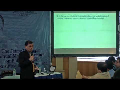 Critique of the Federalism Project in the Philippines using the Institutional Design Literature