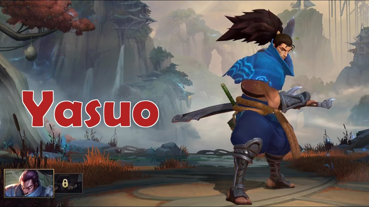 Wild Rift Closed Beta: Yasuo (Fighter) Gameplay