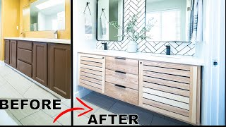 DIY Master Bathroom Makeover