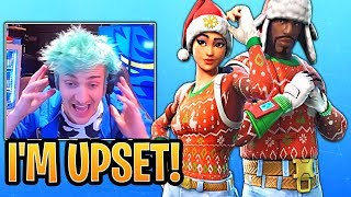 Ninja Reacts to Nog Ops and Yuletide Ranger Skins BACK in the Item Shop!- Fortnite Funny