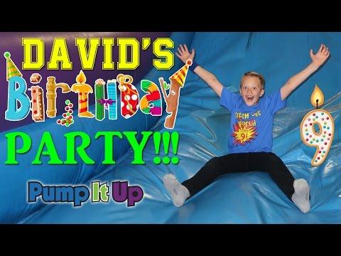 David's 9th Birthday Party!!