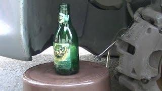 Purger vos freins à la bouteille